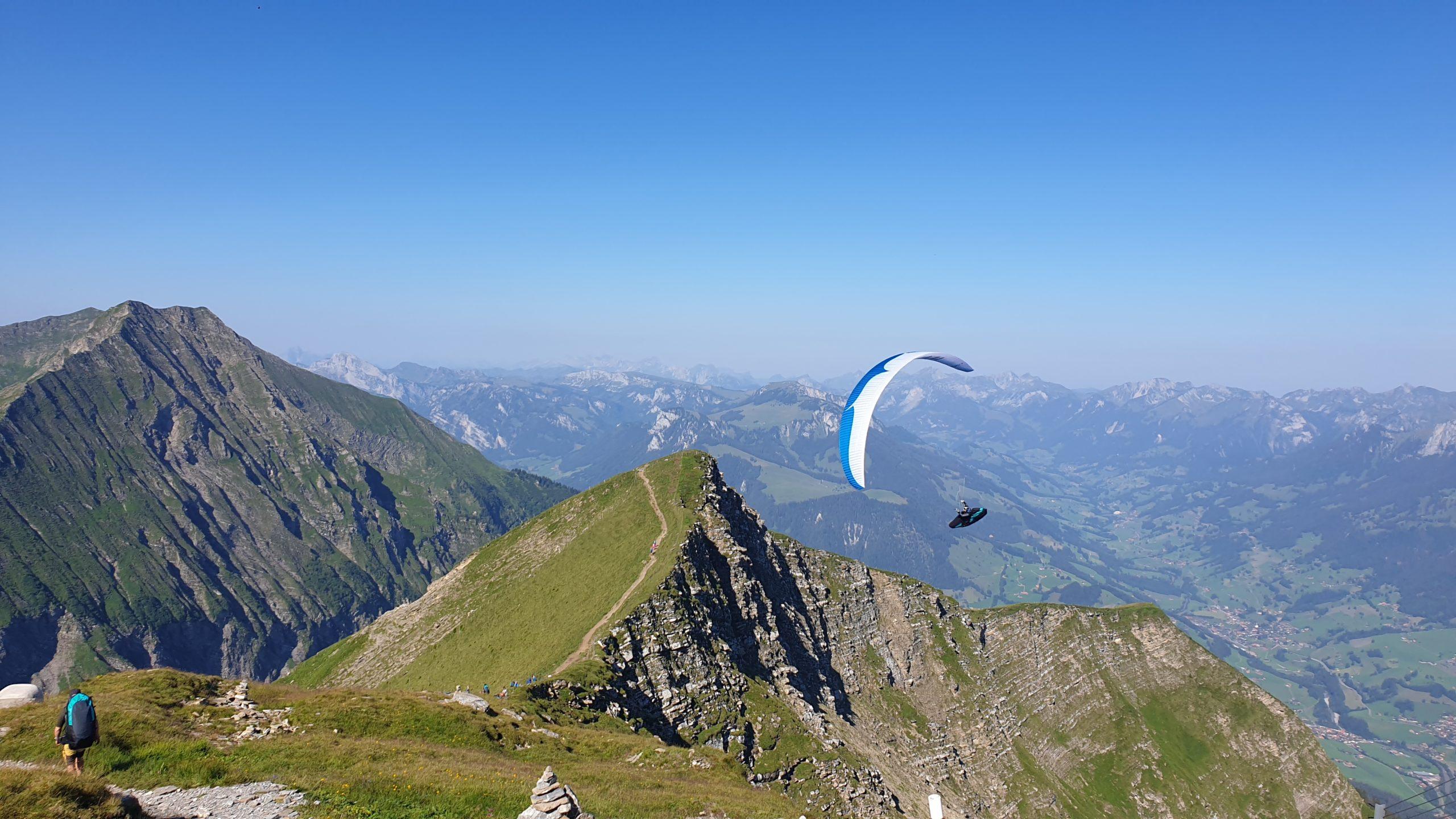 alpsfreeride paragliding gleitschirm Niesen Switzerland 5