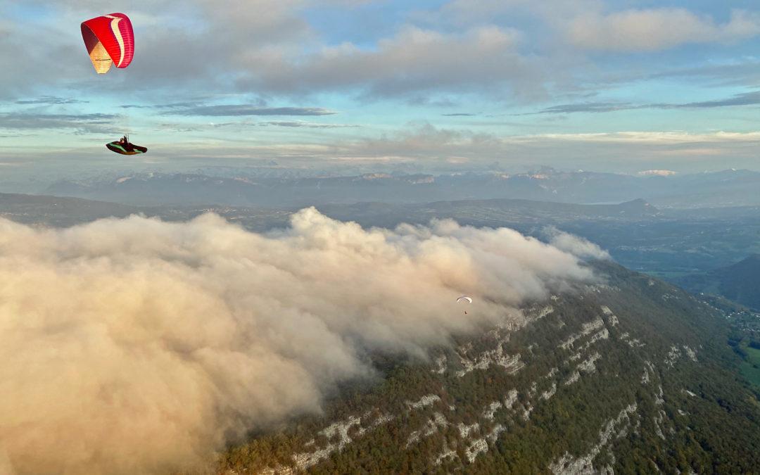 Vuache cloud surfing
