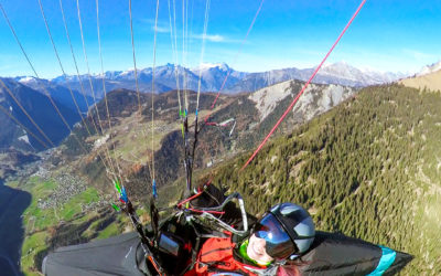 Artik 6 Party above Verbier
